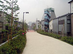 不動前緑道公園