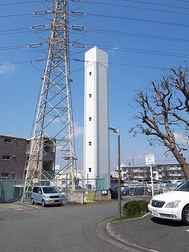 片倉台団地の給水塔