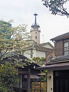 高輪消防署の望楼