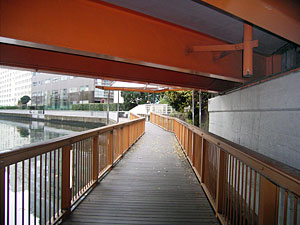藻塩橋の下