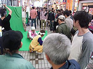 テレビロケ