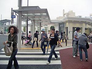 新装武蔵小山駅