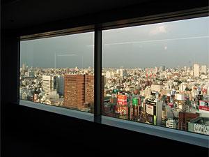 新宿エルタワーから