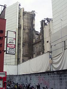 渋谷ビデオスタジオ解体