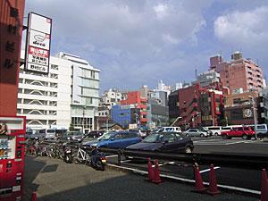 駐車場(渋谷ビデオスタジオ跡)