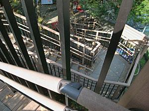 高輪南町児童遊園入口階段