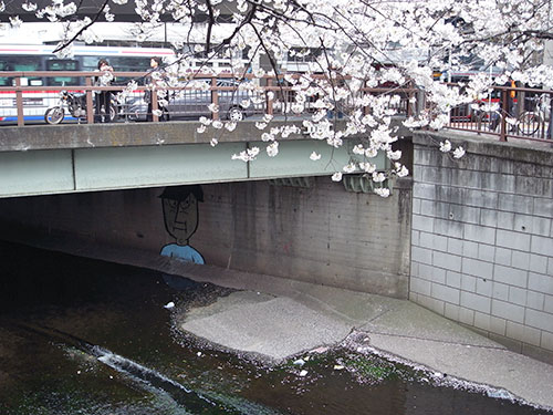 目黒川の大橋