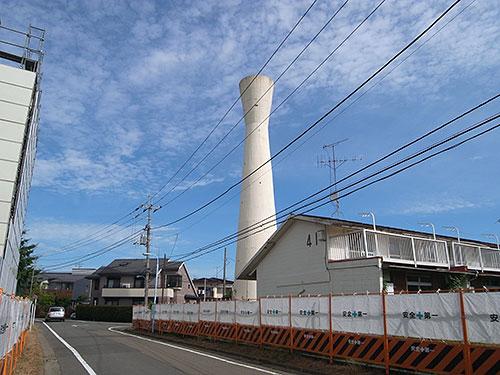 阿佐ヶ谷住宅の給水塔