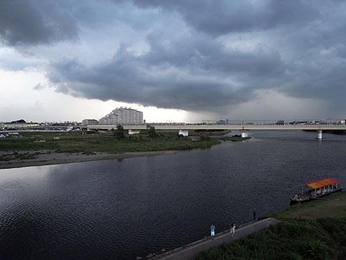多摩水道橋から - 気まま写真ノ...