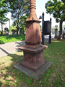 アーク灯(日比谷公園)