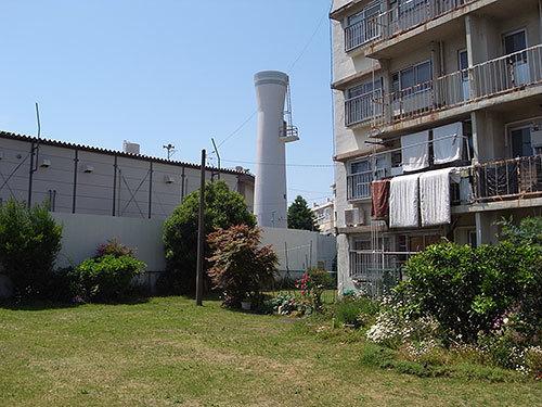 戸手団地の給水塔