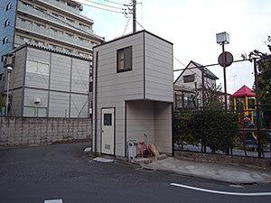 狭小住宅(東矢口)