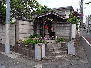 竹ノ下地蔵(豪徳寺)