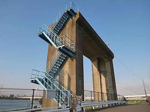 新日本製鉄水門