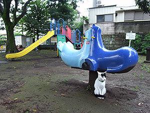 北馬込わんぱく児童公園の猫