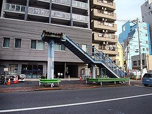 歩道橋撤去