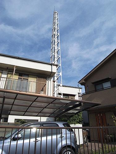 小倉湯の煙突(川崎市幸区)