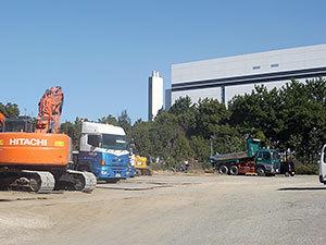 大田清掃工場の煙突