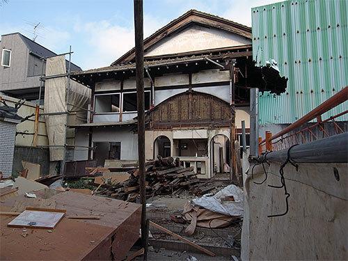冨士の湯解体(目黒本町)