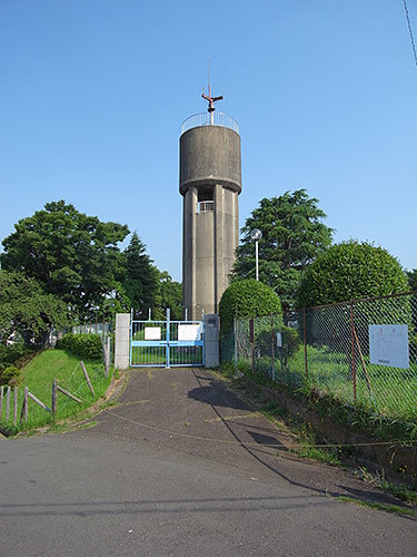 潮見台浄水場給水塔