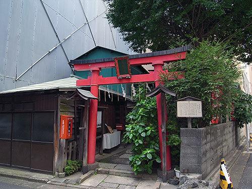 五十稲荷神社(神田小川町)