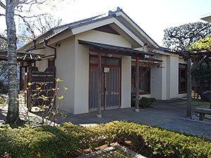尾崎士郎記念館外観