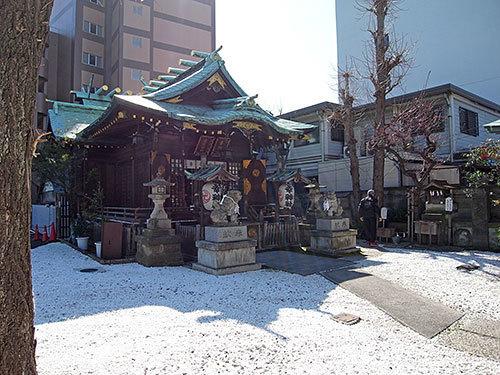 幸稲荷神社(芝公園)
