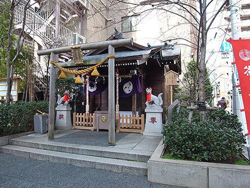 茶ノ木神社(日本橋人形町)