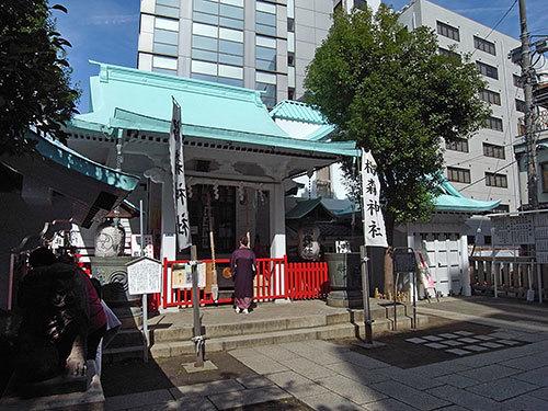 椙森神社(日本橋堀留町)