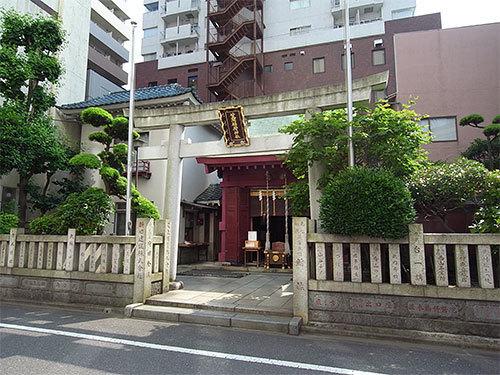 笠間稲荷神社東京別社(日本橋浜町)