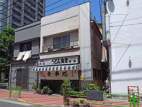 うどん食堂(佃)
