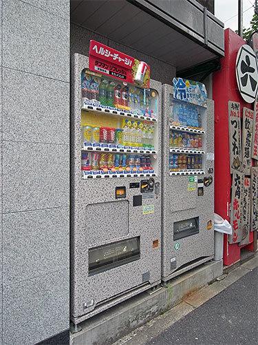 保護色自販機(内神田)