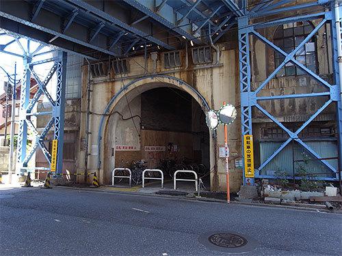 国道駅入口