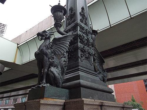麒麟像(日本橋)