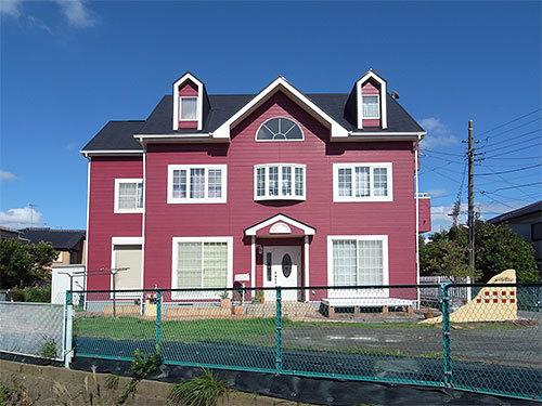 赤い家(多摩区)