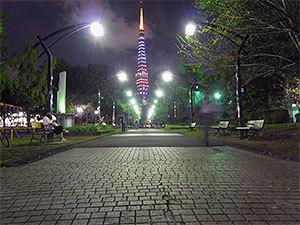 ハロウィン東京タワー