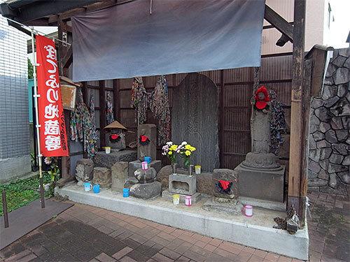 ぼてふり地蔵尊(鶴見区佃野町)