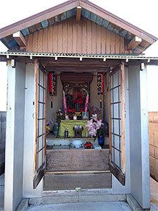 五十間鼻無縁仏堂(羽田)
