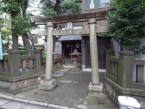 竹森神社(日本橋小伝馬町)