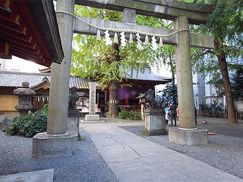 日本橋日枝神社(山王御旅所)