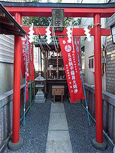 純子稲荷神社(日本橋茅場町)