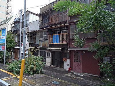 富沢町バラック建築