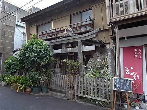 柏山稲荷神社(月島)