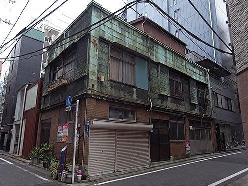 銅板建築(銀座)