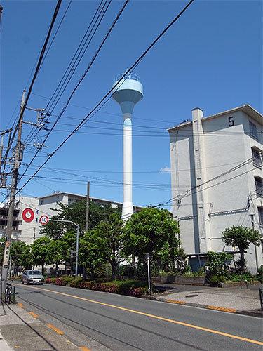 都営本羽田2丁目第3アパート給水塔