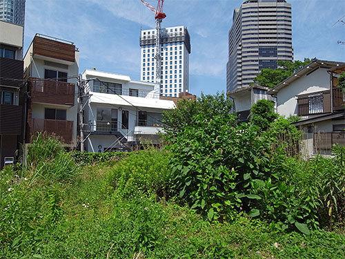 赤坂7丁目の空き地