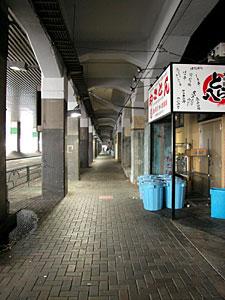 東京駅北の高架下