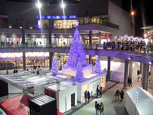 パレットプラザのクリスマスツリー