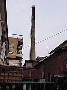 豊湯の煙突
