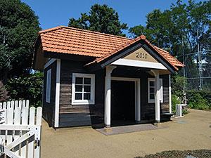 Aさんの庭(トトロの住む家)